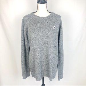 Burton Durable Goods Wool Blend Crewneck Sweater
